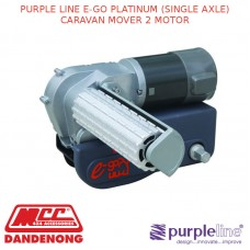 PURPLE LINE E-GO PLATINUM (SINGLE AXLE) CARAVAN MOVER 2 MOTOR
