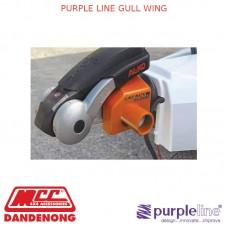 PURPLE LINE GULL WING
