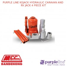 PURPLE LINE KOJACK HYDRAULIC CARAVAN AND RV JACK 4 PIECE KIT