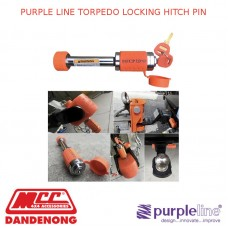 PURPLE LINE TORPEDO LOCKING HITCH PIN