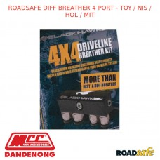ROADSAFE DIFF BREATHER 4 PORT - TOY / NIS / HOL / MIT