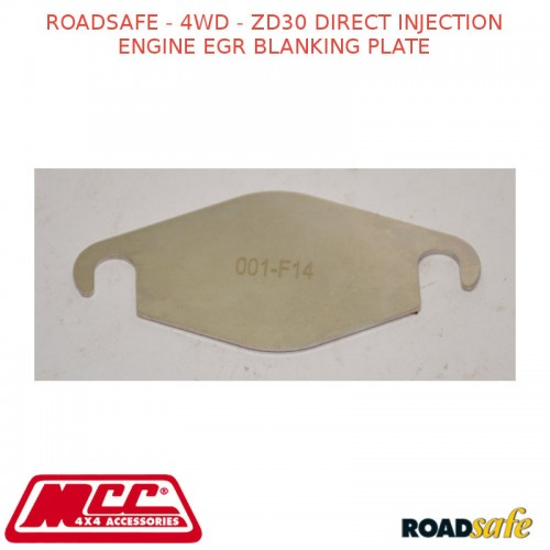 roadsafe - 4wd - zd30 direct injection engine egr blanking plate