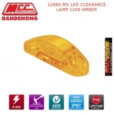 1268A-MV LED CLEARANCE LAMP 1268 AMBER