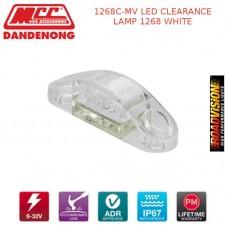 1268C-MV LED CLEARANCE LAMP 1268 WHITE
