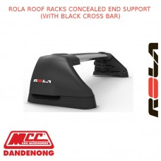 ROLA ROOF RACK SET FOR AUDI A3 - BLACK (CONCEALED)