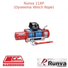 RUNVA 11000lb 6.5HP RED WINCH DYNEEMA ROPE