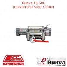 RUNVA 13500lb 7.2HP OR 7.1HP GREY GALVANISED STEEL CABLE
