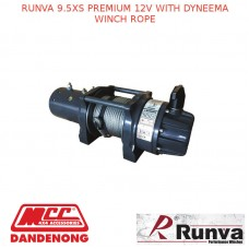 RUNVA 9.5XS PREMIUM 12V WITH DYNEEMA WINCH ROPE
