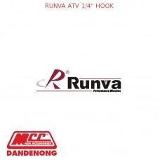 """RUNVA ATV 1/4"""" HOOK"""