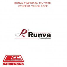 RUNVA EWK2000A 12V WITH DYNEEMA WINCH ROPE