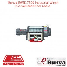RUNVA 17500lb 7.1HP OR 7.9HP GREY GALVANISED STEEL CABLE