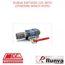 RUNVA EWT3500 12V WITH DYNEEMA WINCH ROPE