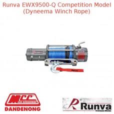 RUNVA 9500lb 8.6HP or 10.7HP GREY WINCH DYNEEMA ROPE