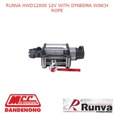 RUNVA HWD12000 12V WITH DYNEEMA WINCH ROPE