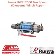 RUNVA 12000lb GREY WINCH DYNEEMA ROPE