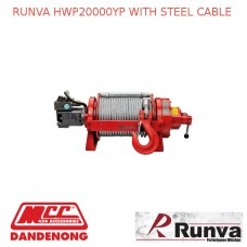 RUNVA HWP20000YP WITH STEEL CABLE