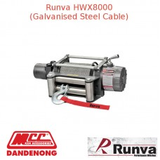 RUNVA 8000lb GREY GALVANISED STEEL CABLE