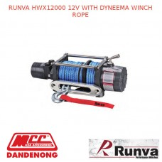 RUNVA HWX12000 12V WITH DYNEEMA WINCH ROPE