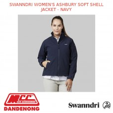 SWANNDRI WOMEN'S ASHBURY SOFT SHELL JACKET - NAVY