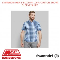 SWANNDRI MEN'S BUXTON 100% COTTON SHORT SLEEVE SHIRT