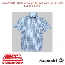 SWANNDRI KID'S DRAGON CREEK COTTON SHORT SLEEVE SHIRT