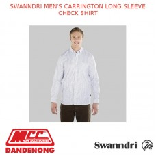 SWANNDRI MEN'S CARRINGTON LONG SLEEVE CHECK SHIRT
