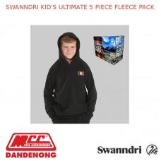 SWANNDRI KID'S ULTIMATE 5 PIECE FLEECE PACK