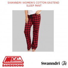 SWANNDRI WOMEN'S COTTON EASTEND SLEEP PANT - SW16316