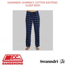 SWANNDRI WOMEN'S COTTON EASTEND SLEEP PANT