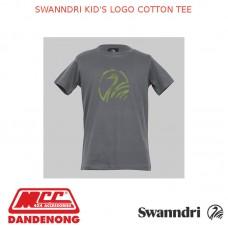 SWANNDRI KID'S LOGO COTTON TEE