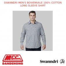 SWANNDRI MEN'S BOWENVALE 100% COTTON LONG SLEEVE SHIRT