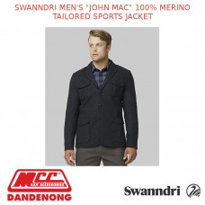 "SWANNDRI MEN'S ""JOHN MAC"" 100% MERINO TAILORED SPORTS JACKET"
