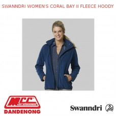 SWANNDRI WOMEN'S CORAL BAY II FLEECE HOODY