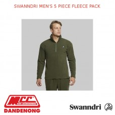 SWANNDRI MEN'S 5 PIECE FLEECE PACK