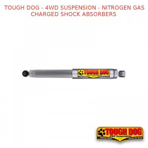 TOUGH DOG - 4WD SUSPENSION - KIT FOR DAIHATSU F10, F20, F50, F60, SCAT 08/75–84 LIGHT REAR LOAD