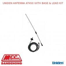 UNIDEN ANTENNA AT450 WITH BASE & LEAD KIT