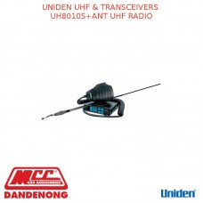 UNIDEN UHF & TRANSCEIVERS UH8010S+ANT UHF RADIO