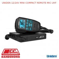 UNIDEN 12/24V MINI COMPACT REMOTE MIC UHF