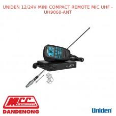 UNIDEN 12/24V MINI COMPACT REMOTE MIC UHF - UH9060-ANT