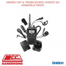 UNIDEN UHF & TRANSCEIVERS UH950S 5W HANDHELD RADIO