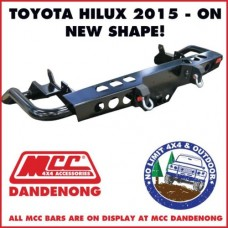 MCC REAR JACK BAR SUIT TOYOTA HILUX 15 - ON 022-03 ADR 3500KG ARB TJM TOWBAR