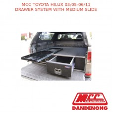 MCC BULLBAR  DRAWER SYSTEM WITH MEDIUM SLIDE SUIT TOYOTA HILUX (03/2005-06/2011)