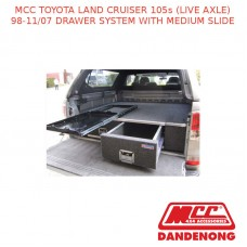 MCC BAR DRAWER SYSTEM W/ MEDIUM SLIDE-LAND CRUISER 105S (LIVE AXLE) (1998-11/07)
