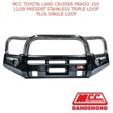 MCC PHOENIX BAR SS 3 LOOP PLUS 1 LOOP-LAND CRUISER PRADO 150 (11/09-PRESENT)-SBL