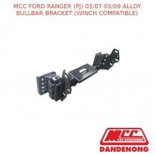 MCC ALLOY BULLBAR BRACKET SUIT FORD RANGER (PJ) (03/2007-03/2009)