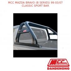 MCC CLASSIC SPORT BAR BLACK TUBING SUIT MAZDA BRAVO (B SERIES) (1999-03/2007)