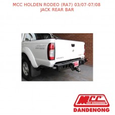 MCC JACK REAR BAR SUIT HOLDEN RODEO (RA7) (03/07-07/08)