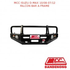 MCC FALCON BAR A-FRAME SUIT ISUZU D-MAX WITH FOG LIGHTS (10/2008-07/2012)