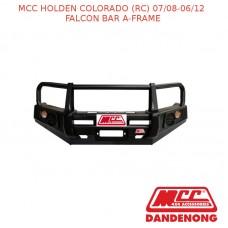 MCC FALCON BAR A-FRAME - HOLDEN COLORADO(RC) WITH UNDER PROTECTION (07/08-06/12)