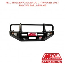 MCC FALCON BAR A-FRAME SUIT HOLDEN COLORADO 7 (WAGON) WITH FOG LIGHTS & UP(2017)